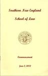 Commencement Program: June 2, 2002 by Carol Vidal