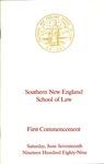 Commencement Program: June 17, 1989