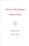 Commencement Program: June 5, 1999 by No Author
