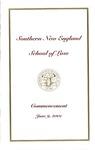 Commencement Program: June 9, 2001 by No Author